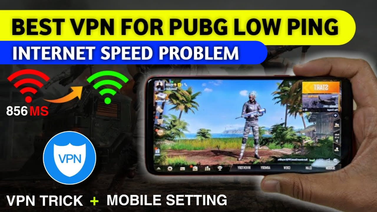 Reduce high ping in pubg