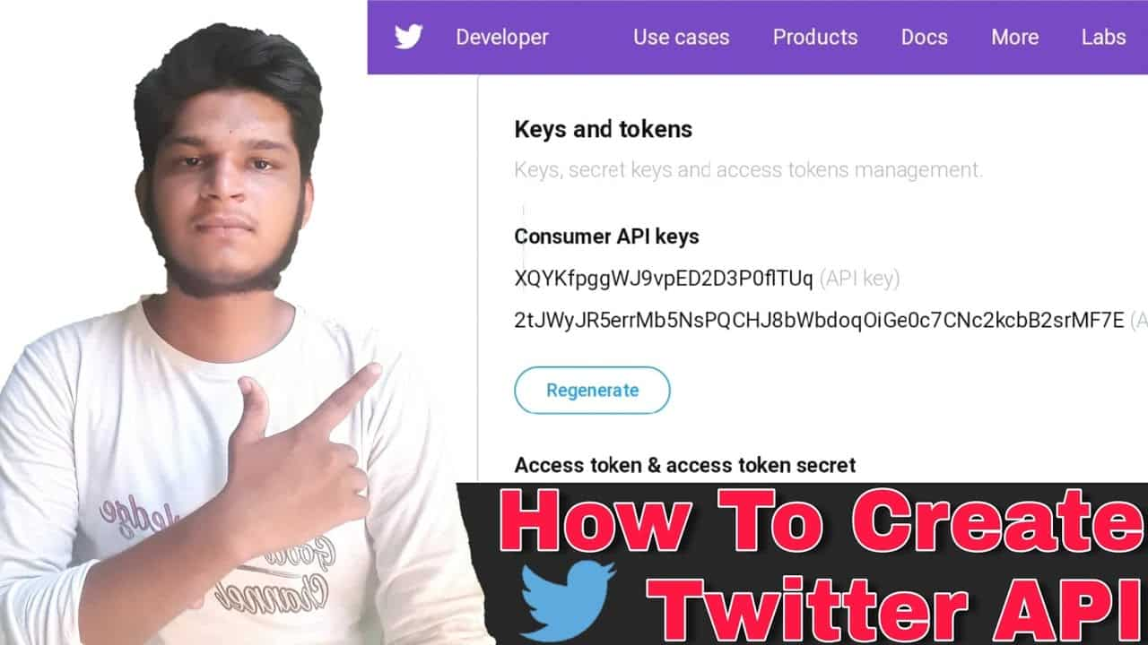 How To Generate Twitter API Key In 2020   How To Create Twitter Developer Account ?