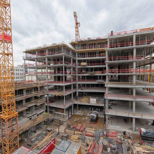 Reinforced Concrete Buildings : Reinforced concrete structures metrostav