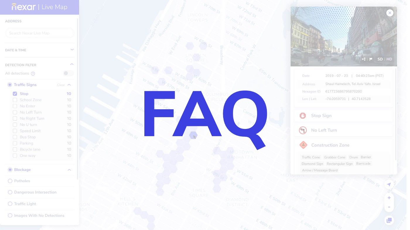 Questions about Nexar LiveMap? We've got answers
