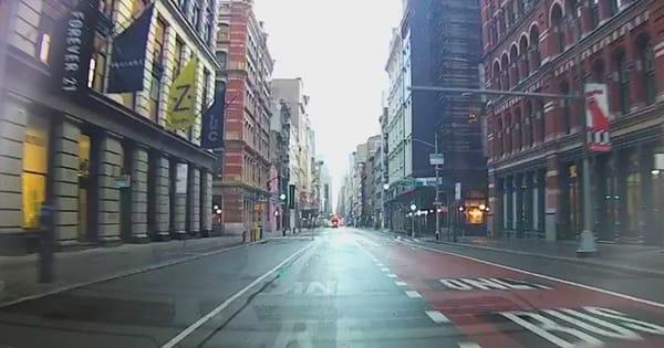 The impact of coronavirus on rideshare driving activity in NYC