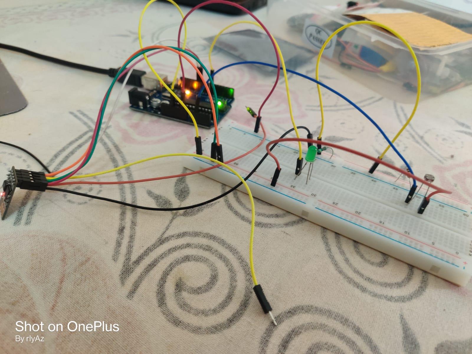 IoT LDR System