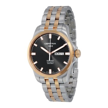 4d048d056 Men's Watches - Certina DS First Day-Date Automatic Black Dial Two ...