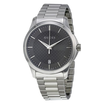 e1caf027c6f Gucci G-Timeless Grey Dial Stainless Steel Unisex Watch. Product Description