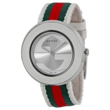 d491b5625f8 Women s Watches - Gucci U Play Silver-tone Dial Ladies Watch was ...