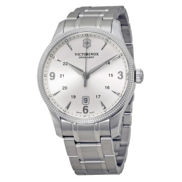 7c63fb095 Men's Watches - Victorinox Swiss Army Alliance Silver Dial Stainless ...