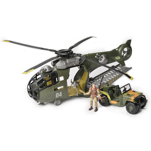 Total Soldier Flying Fortress-Helicopter