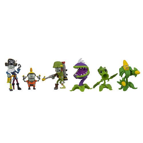 Jazwares Plants vs  Zombies Garden Warfare 2 2 inch Multi Figure Set - 6  Pack