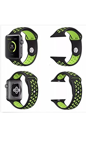 newest collection cd409 19653 Replacement Apple Watch Nike Band 42mm ML Actnow Soft Silicone Nike +  Sport Style IWatch Strap Band