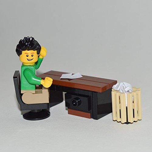 Other Lego Building Toys Lego Furniture Custom Office Desk Set