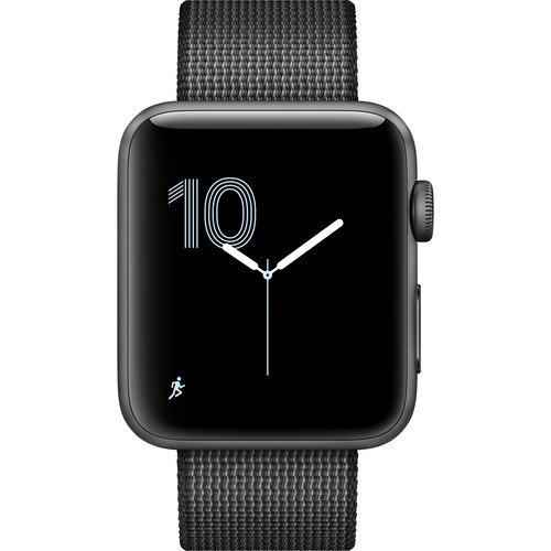Apple Watch Series 2 Smartwatch (Newest Model) (Certified Refurbished)  (42mm, Space Gray Aluminum Ca