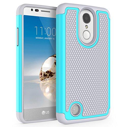 new arrival dce29 92f35 LG Aristo (MS210) Case / LG LV3 Case / LG K8 2017 Case, SYONER [Shockproof]  Defender Phone Case Cove