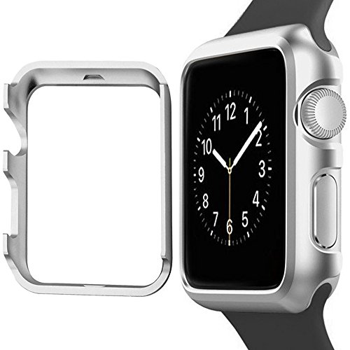 the best attitude ec979 45a74 Apple Watch Case 38mm MYECOGO Unique iWatch Aluminum Protective Shell  Bumper Cases Covers for Apple