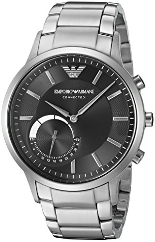 f0108df07a238 Smart Watches - Emporio Armani Connected Hybrid Smartwatch Men's ...