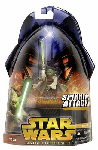 Other Action Figures Star Wars Episode Iii 3 Revenge Of The Sith Yoda Spinning Attack Figure 26 For Sale In South Africa Id 481915414