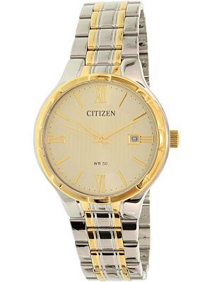 af34a0b09e0d3 Men s Watches - Citizen Men s BI5024-54P Gold Stainless-Steel Quartz ...