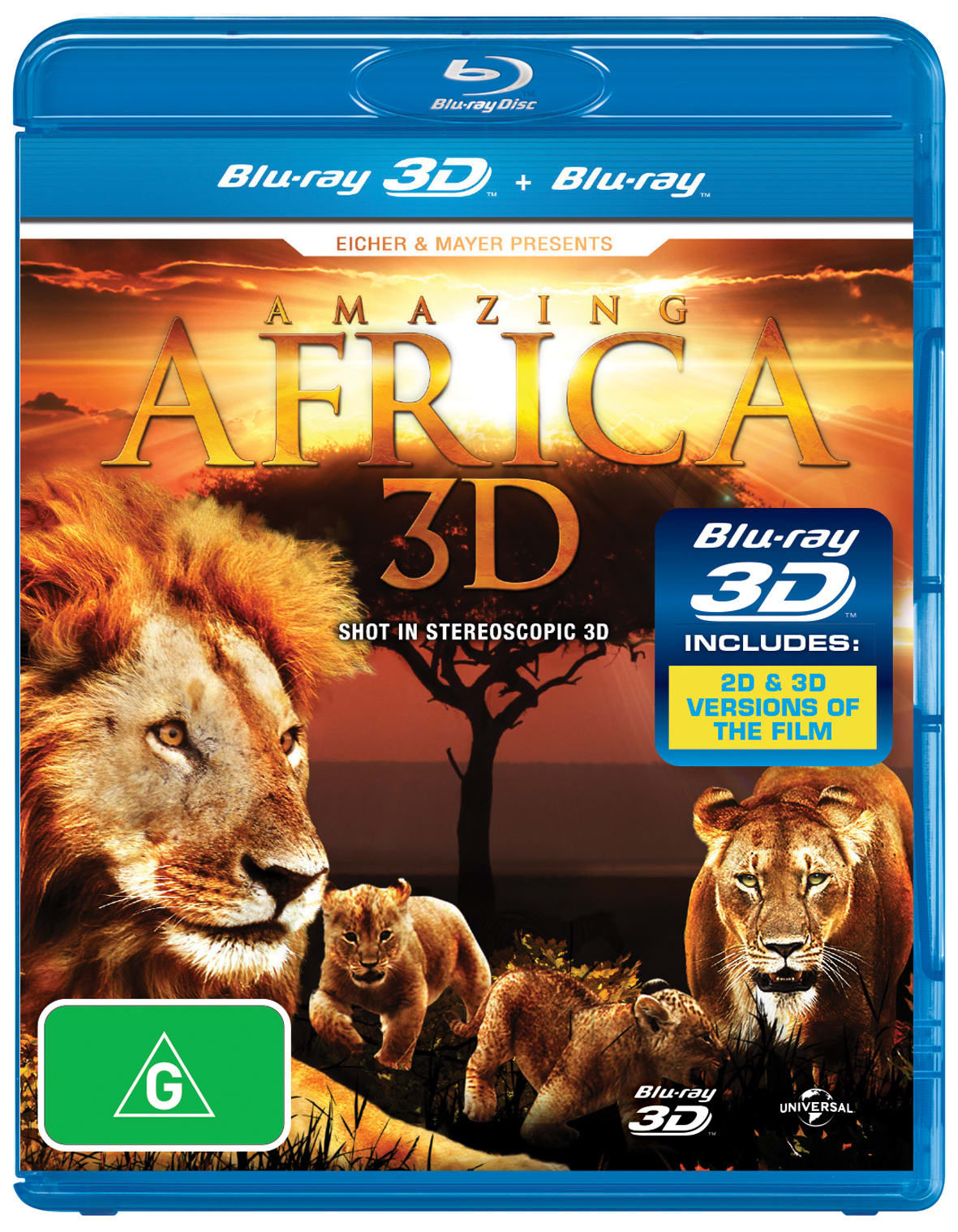 Amazing Africa 3D (3D Edition) [Blu-ray]