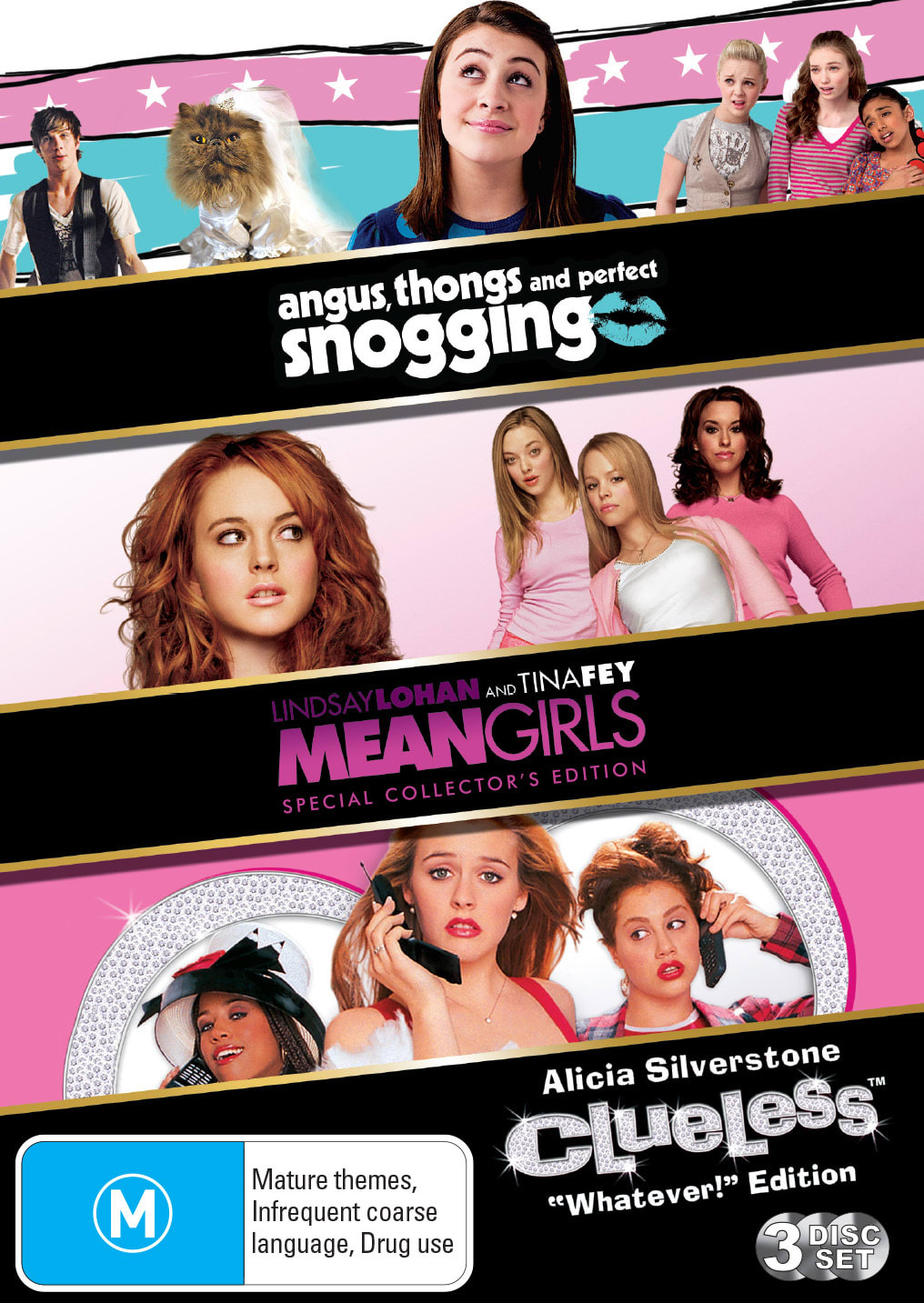 Angus, Thongs and Perfect Snogging/Clueless/Mean Girls [DVD]
