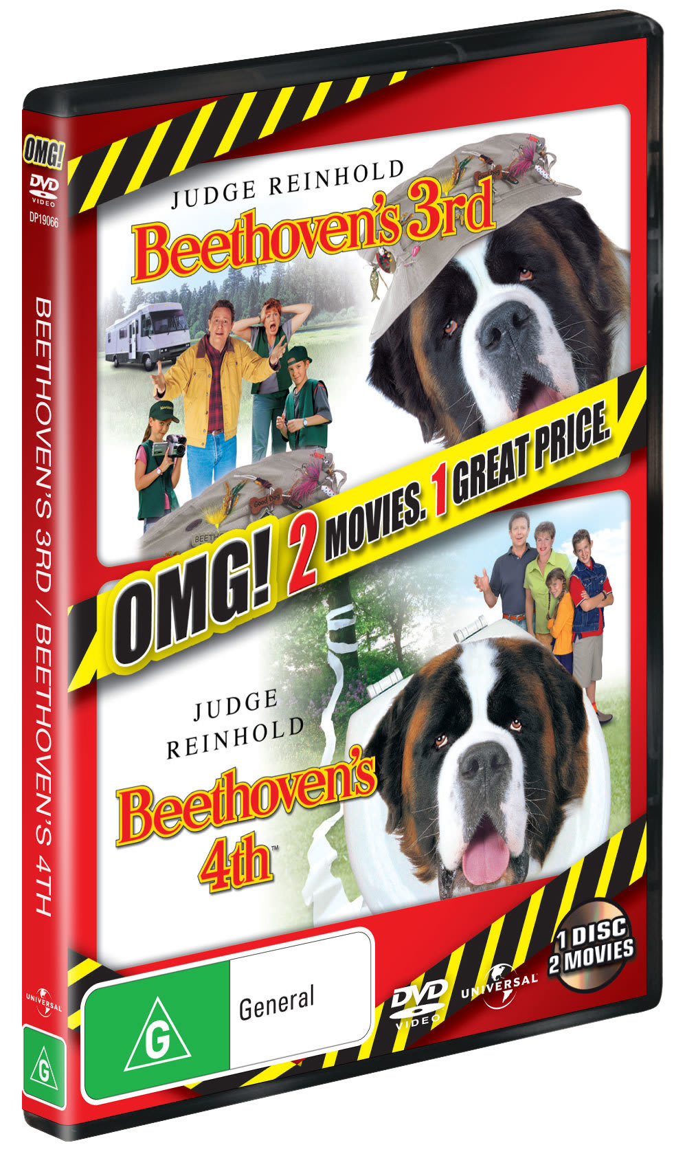 Beethoven's 3rd/Beethoven's 4th [DVD]