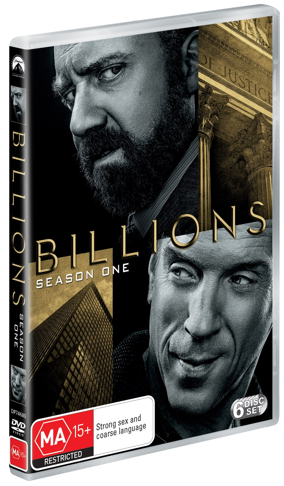 Billions: Season One [DVD]