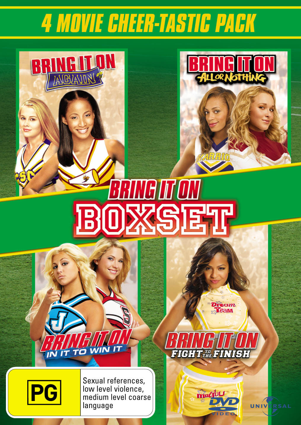 Bring It On: 4-movie Collection [DVD]