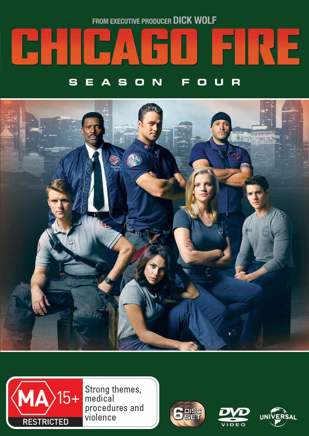 Chicago Fire: Season Four [DVD]