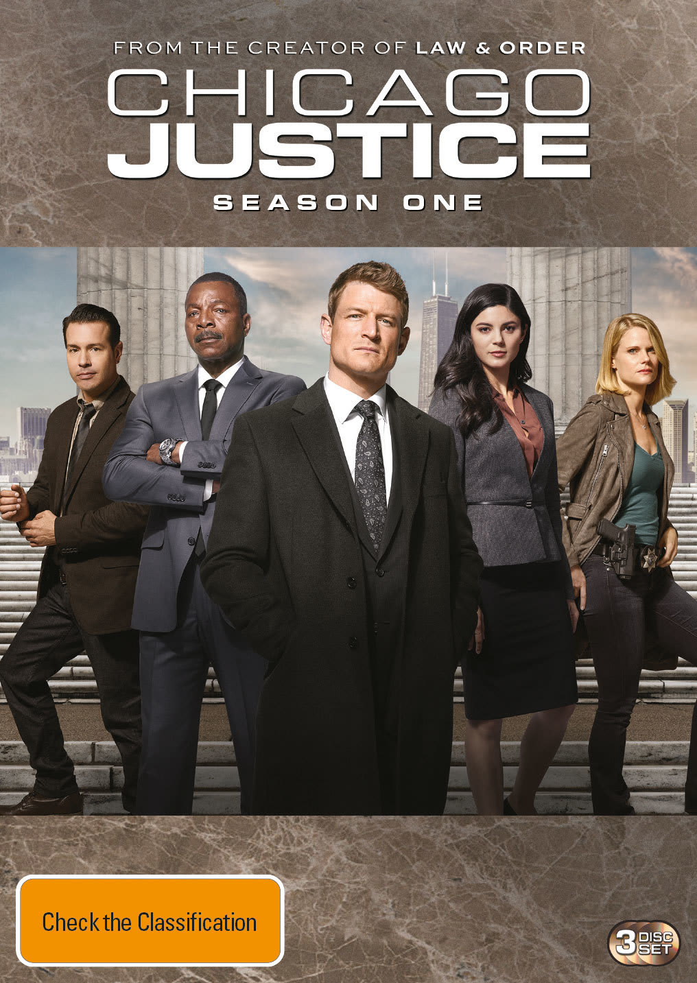 Chicago Justice: Season One (Box Set) [DVD]