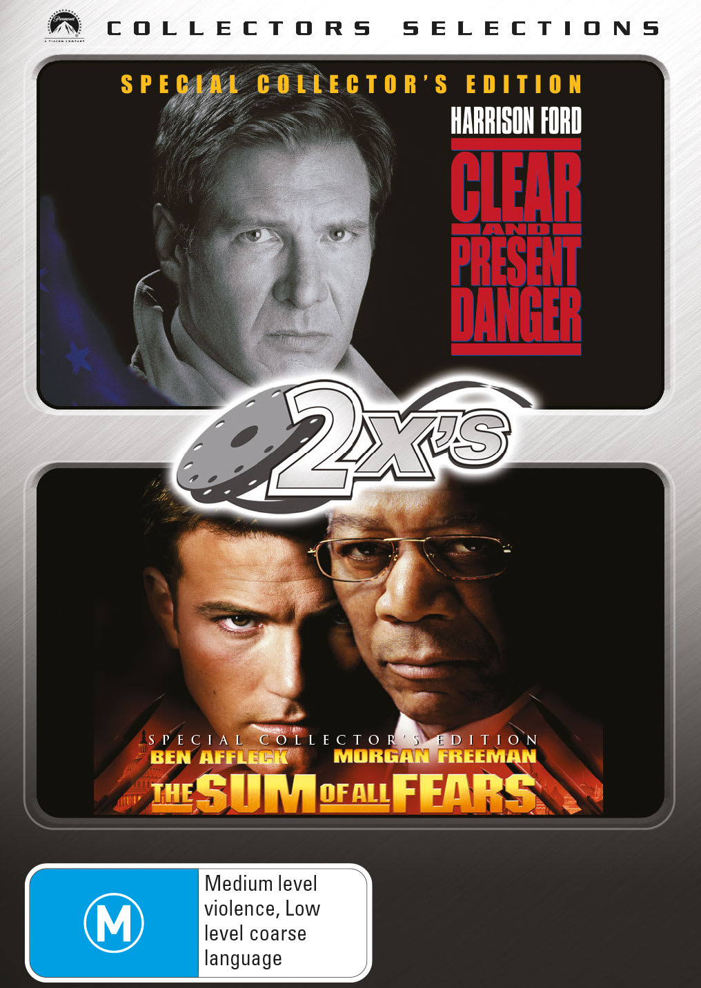 Clear and Present Danger/The Sum of All Fears [DVD]
