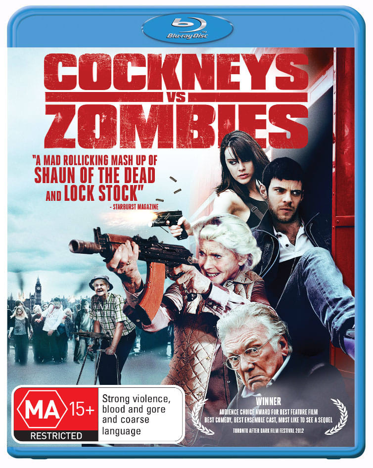Cockneys Vs Zombies [Blu-ray]