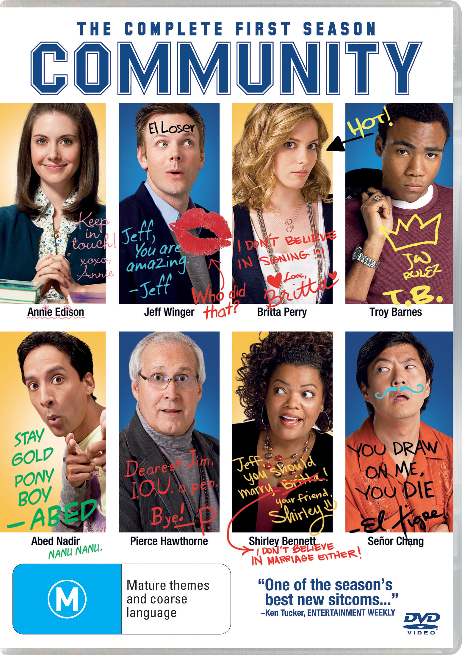 Community: The Complete First Season [DVD]