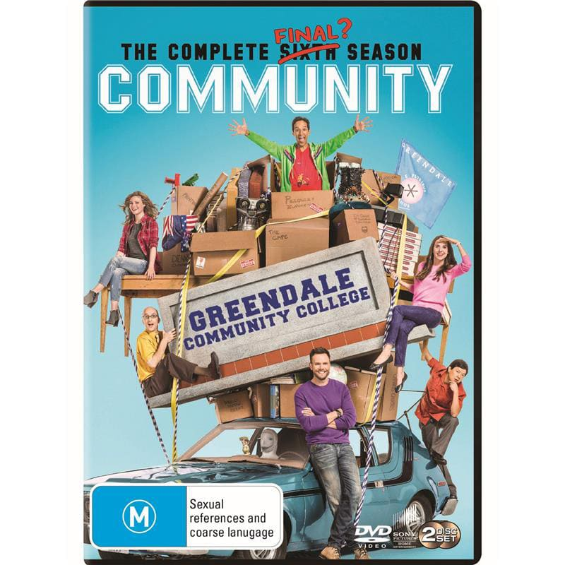 Community: The Complete Sixth Season [DVD]