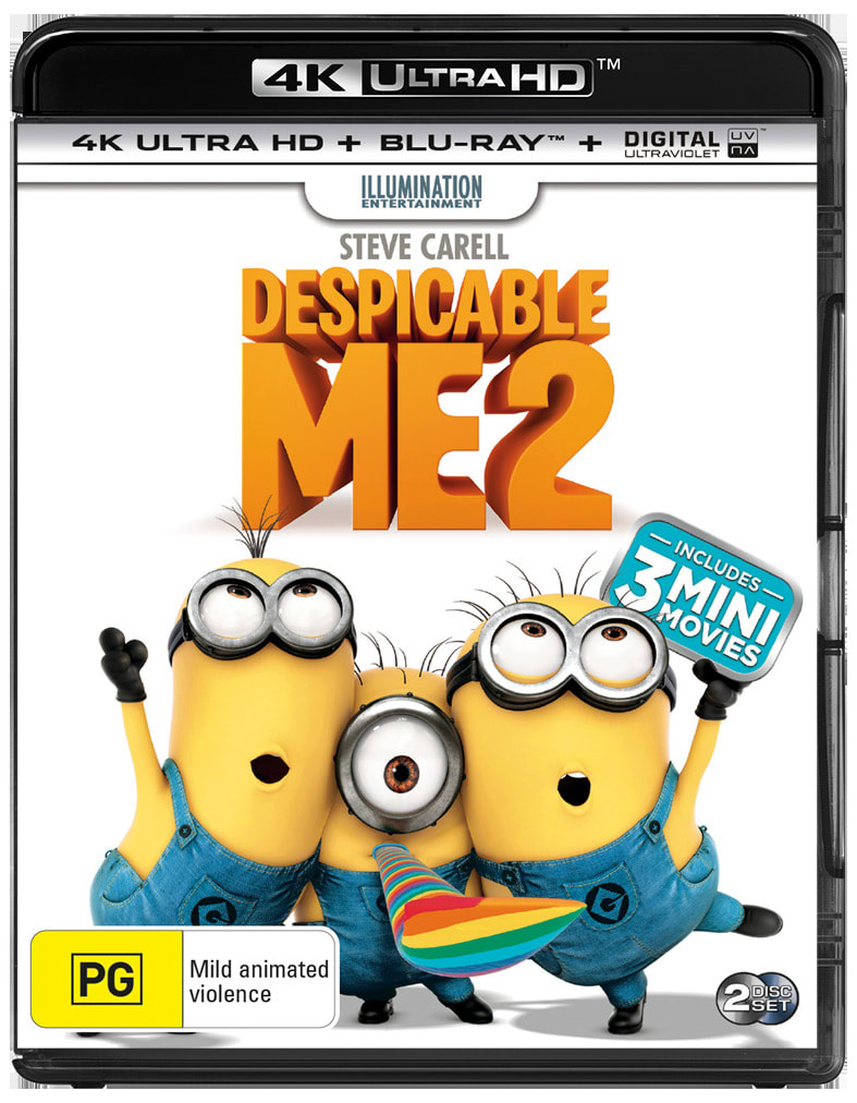 Despicable Me 2 (4K Ultra HD + Blu-ray) [UHD]