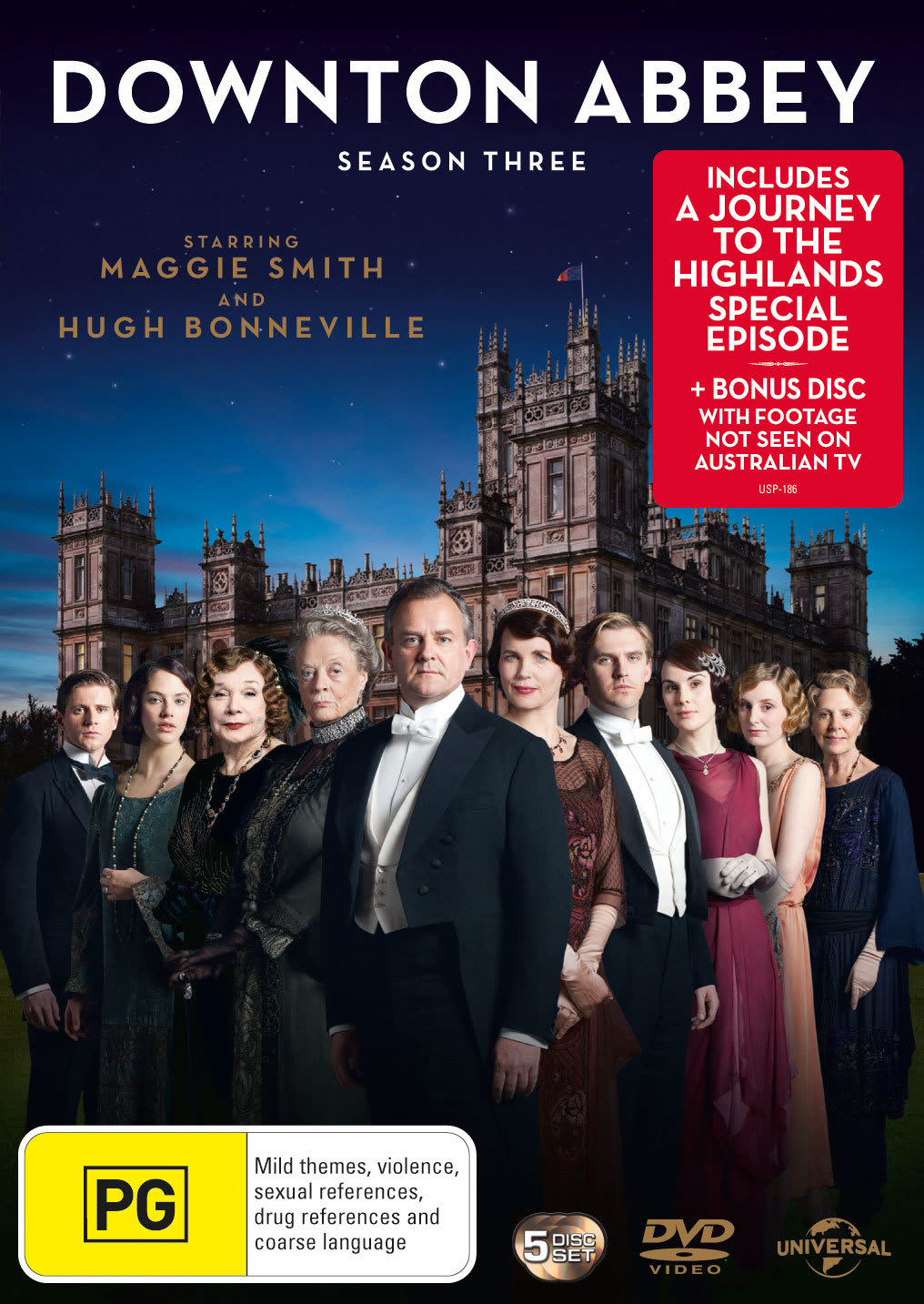 Downton Abbey: Series 3 (Box Set) [DVD]