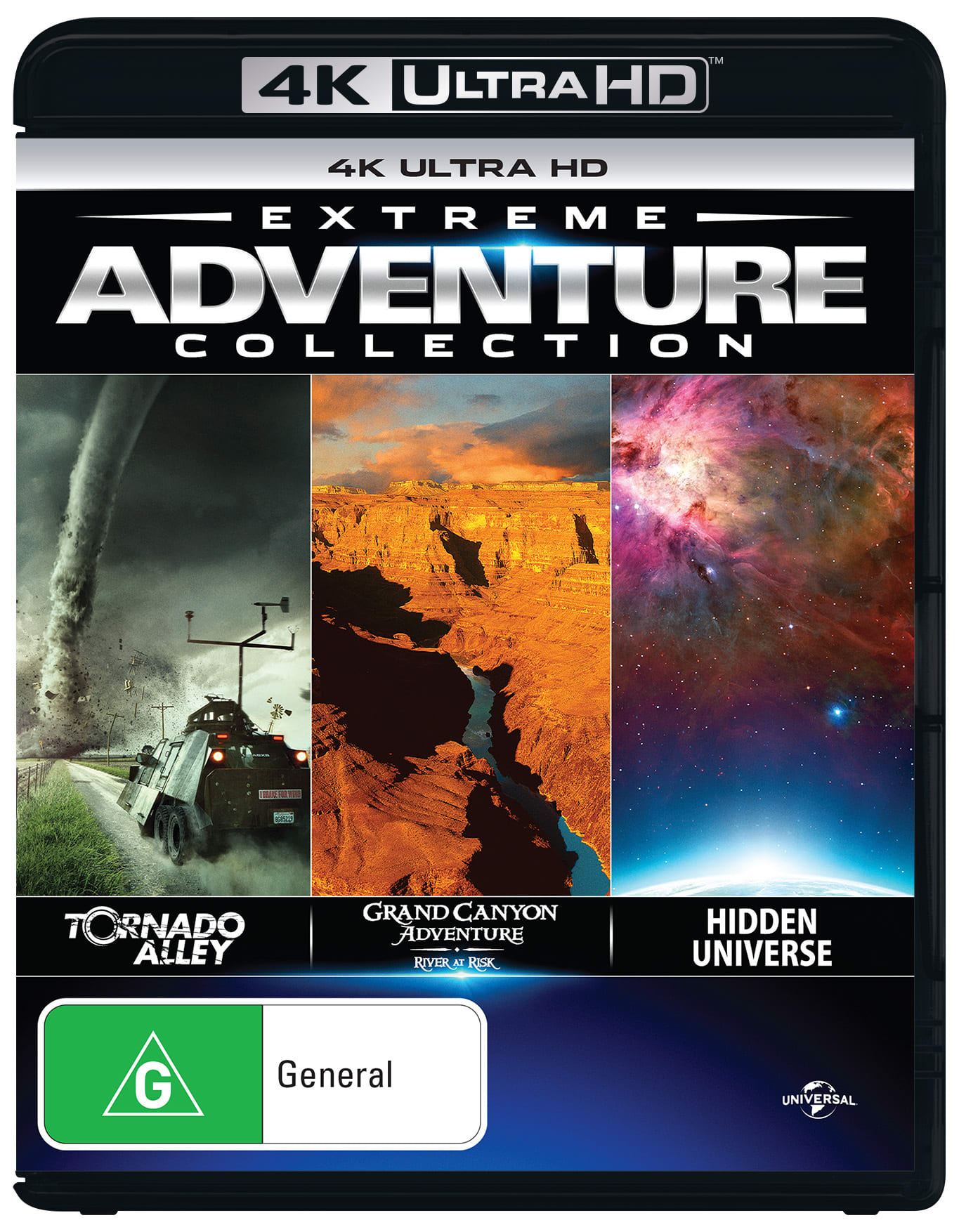 Extreme Adventure Collection (4K Ultra HD + Blu-ray) [UHD]