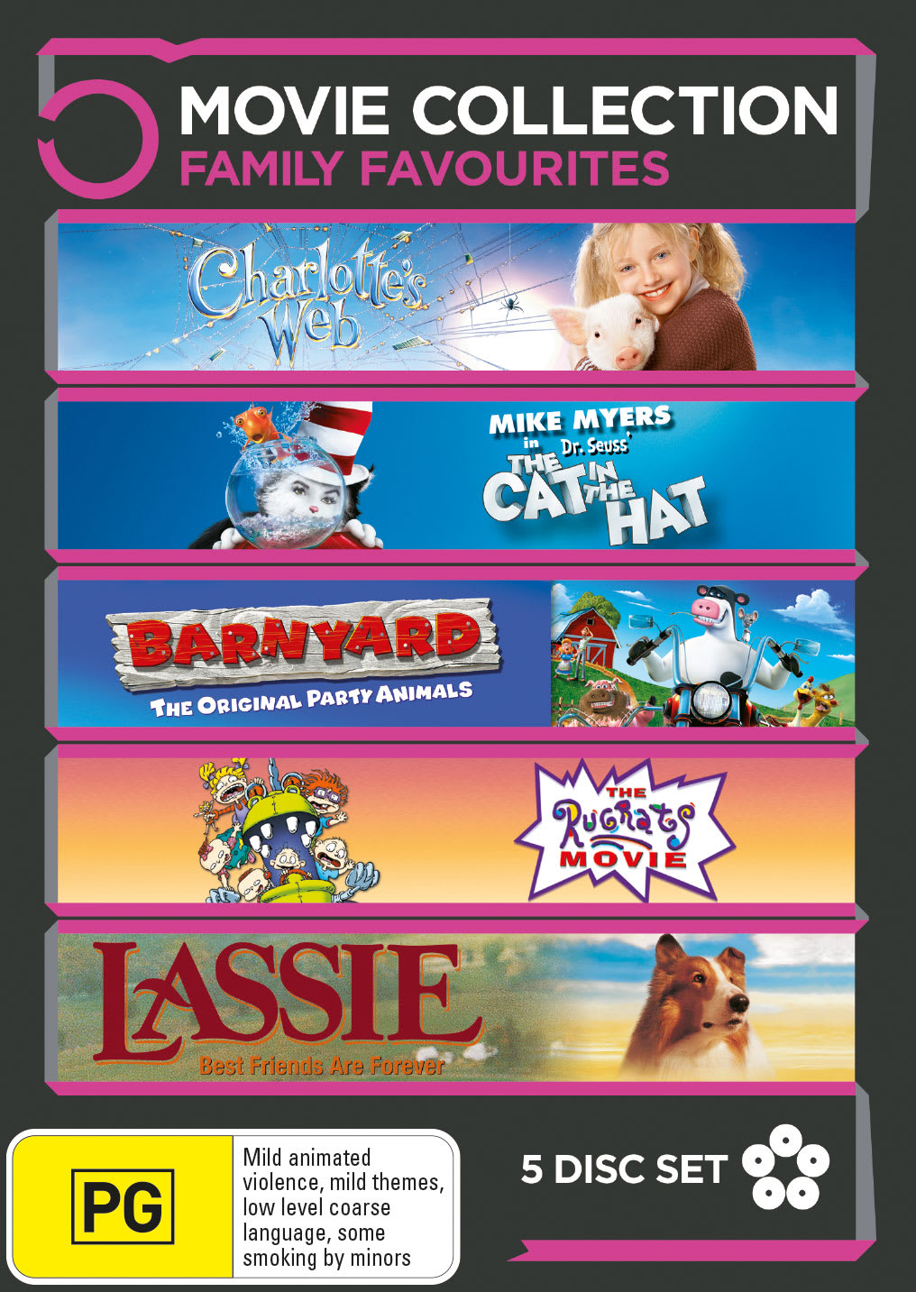 Family Favourites: 5-movie Collection [DVD]