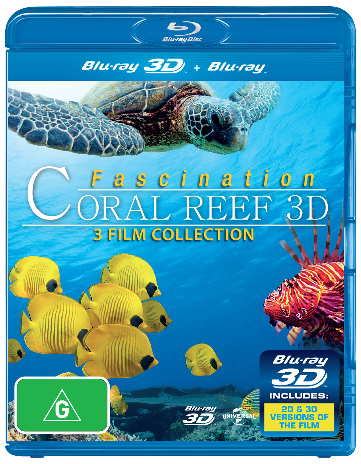 Fascination Coral Reef 3D (3D Edition) [Blu-ray]
