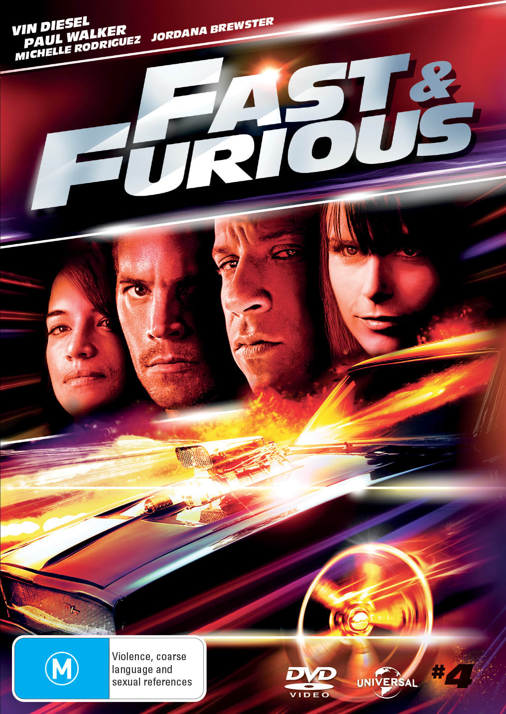 The Fast & the Furious 4 [DVD]