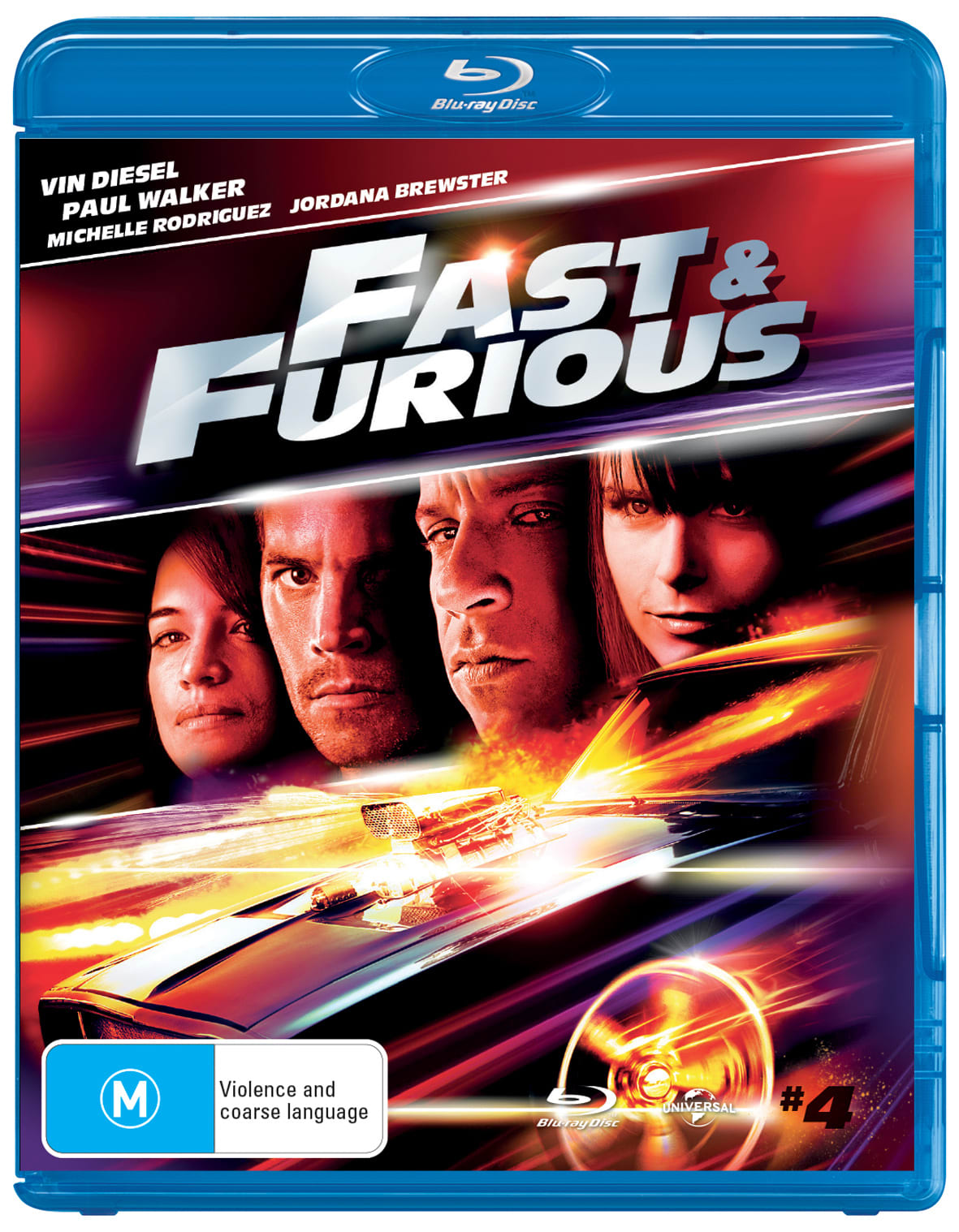 The Fast & the Furious 4                              [Blu-ray]