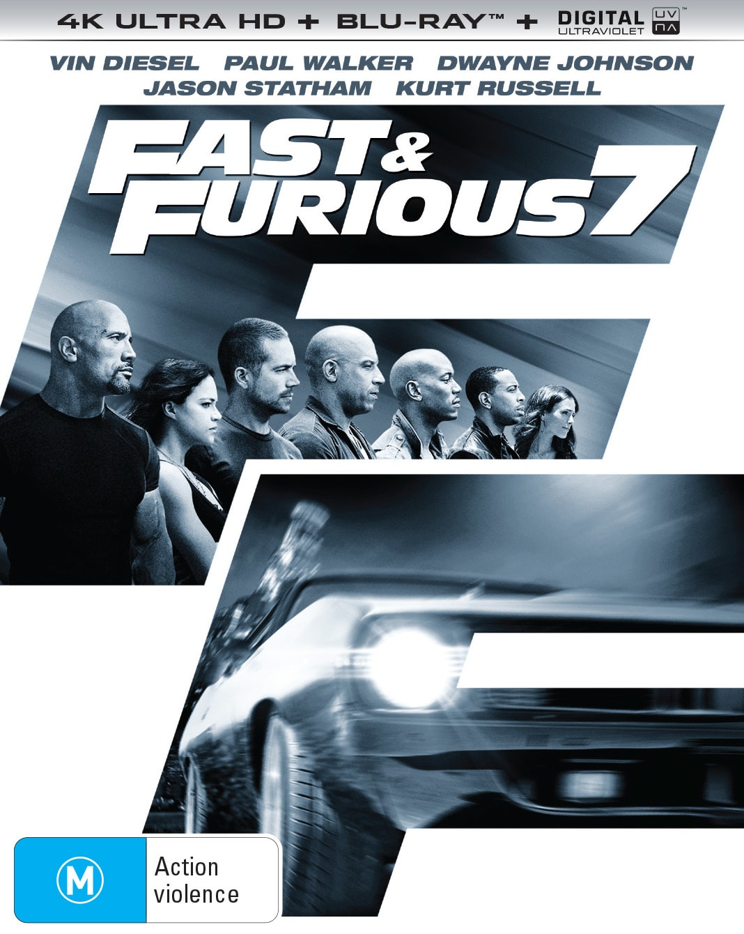 Fast & Furious 7 (4K Ultra HD + Blu-ray) [UHD]