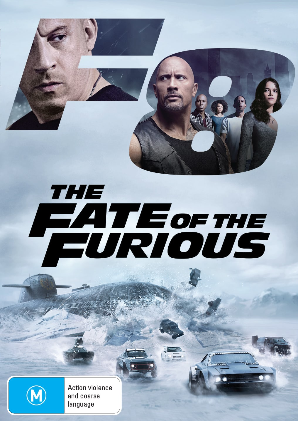 The Fate of the Furious [DVD]