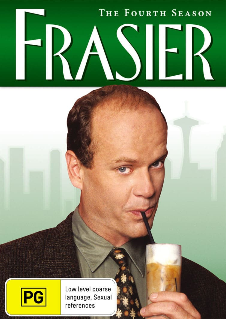 Frasier: The Complete Season 4 [DVD]