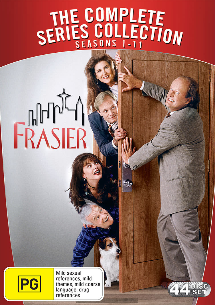 Frasier: The Complete Seasons 1-11 [DVD]