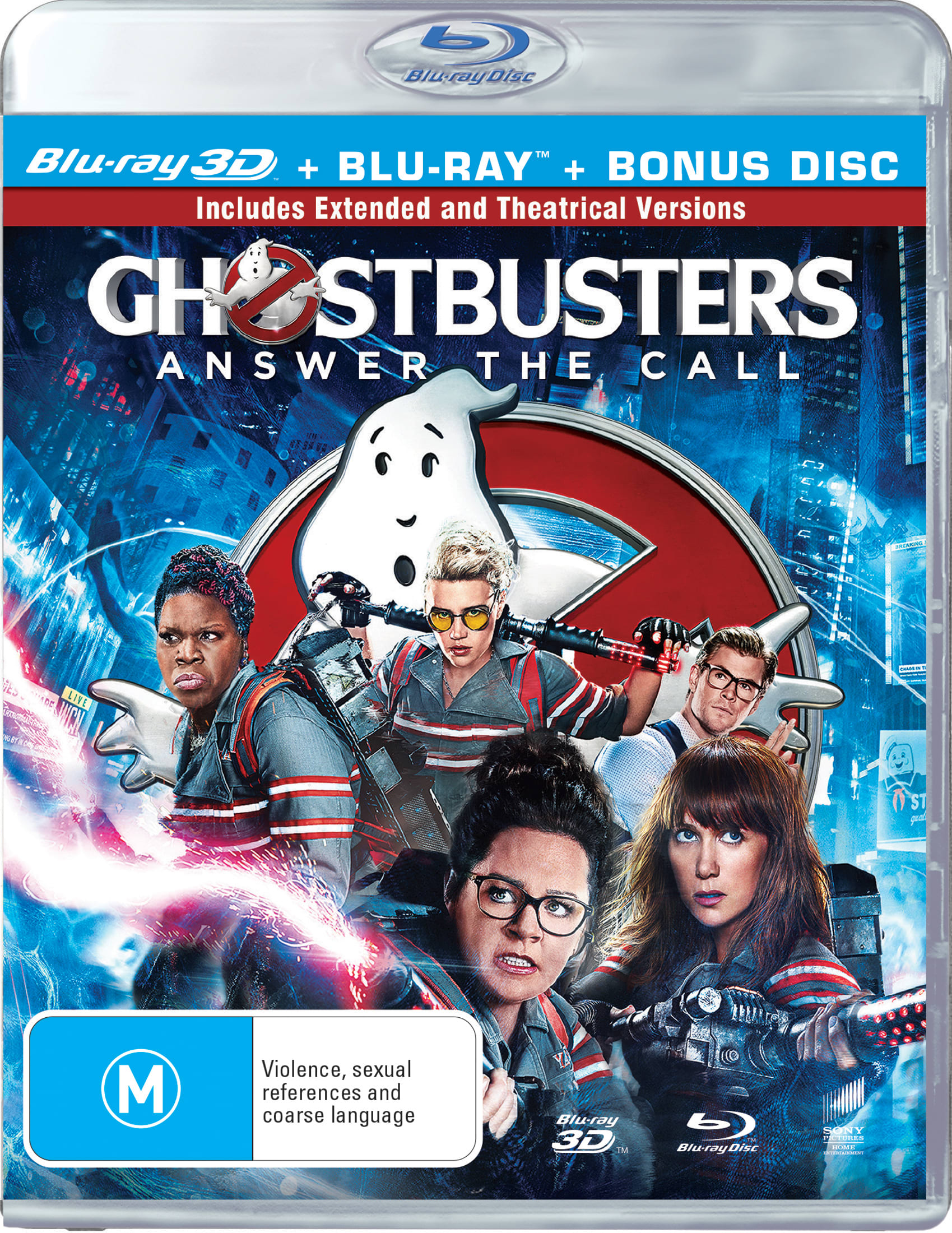 Ghostbusters (2016) (3D Edition with 2D Edition) [Blu-ray]