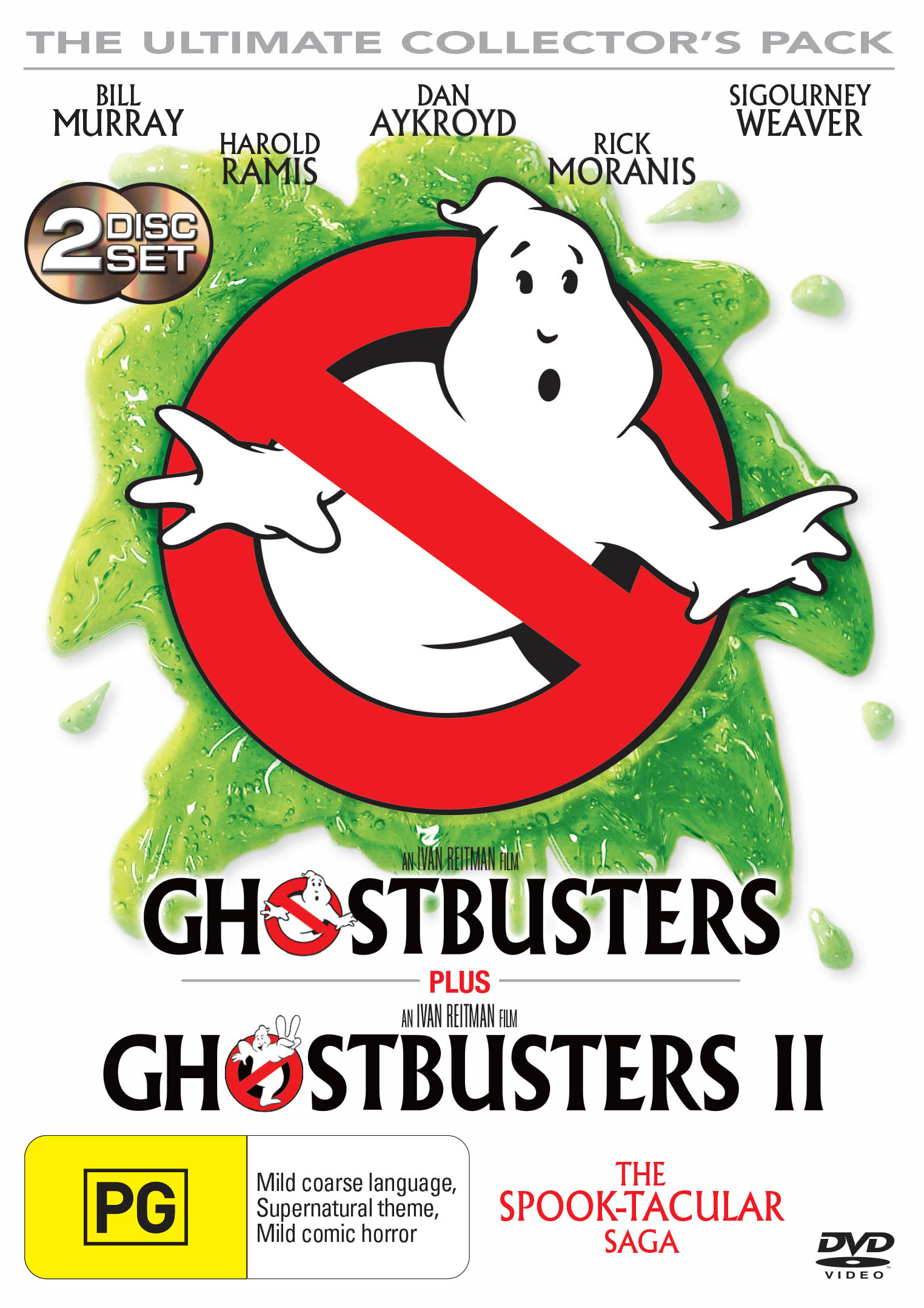 Ghostbusters/Ghostbusters 2 [DVD]