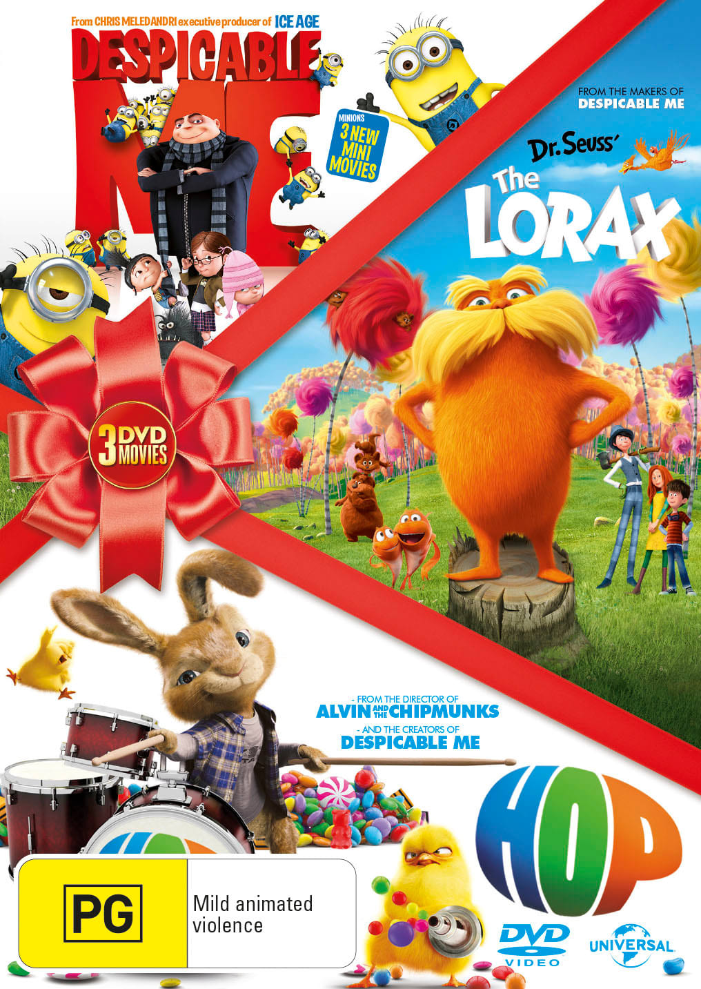 Hop/Despicable Me/The Lorax [DVD]