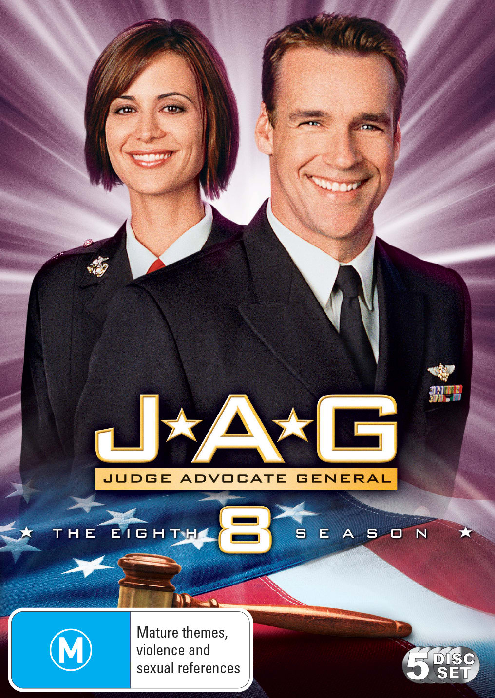 JAG: The Complete Eighth Season [DVD]