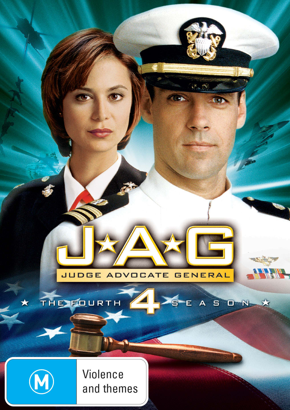 JAG: The Complete Fourth Season [DVD]