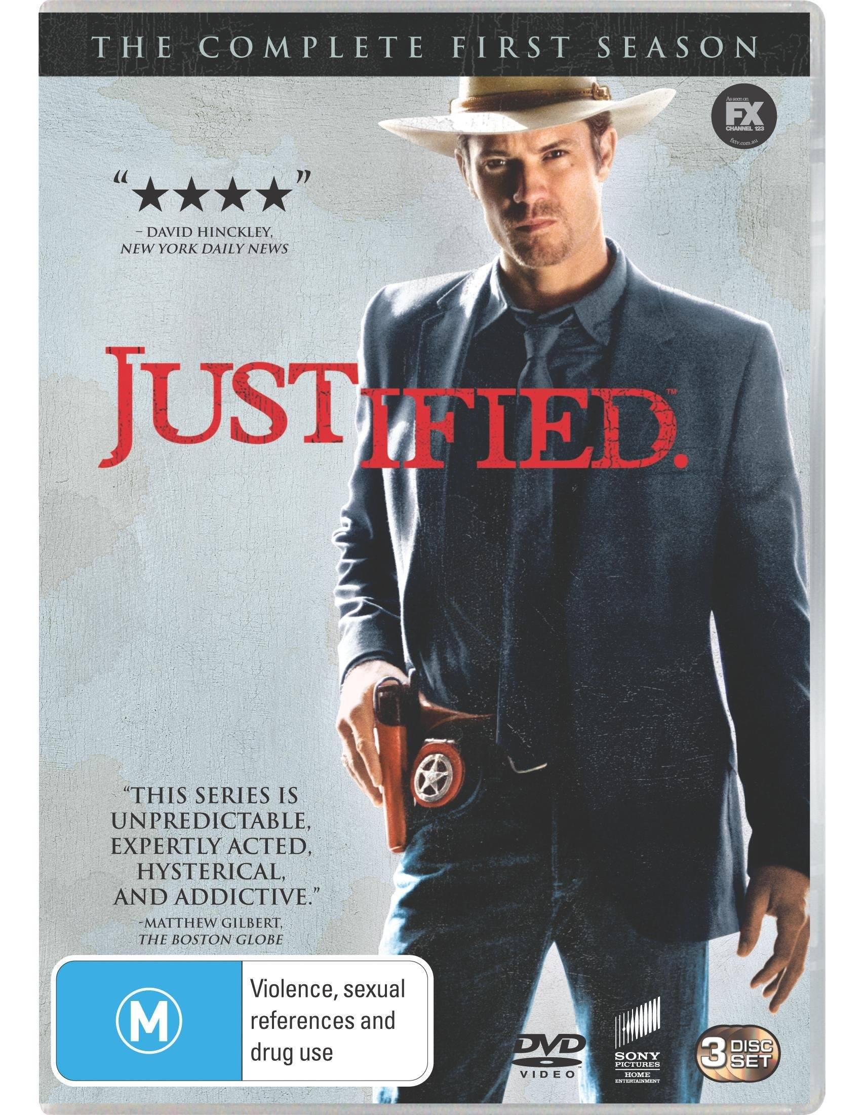 Justified: The Complete First Season [DVD]