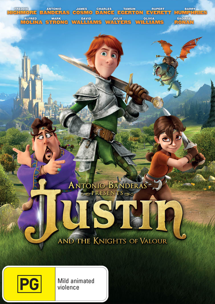 Justin and the Knights of Valour [DVD]