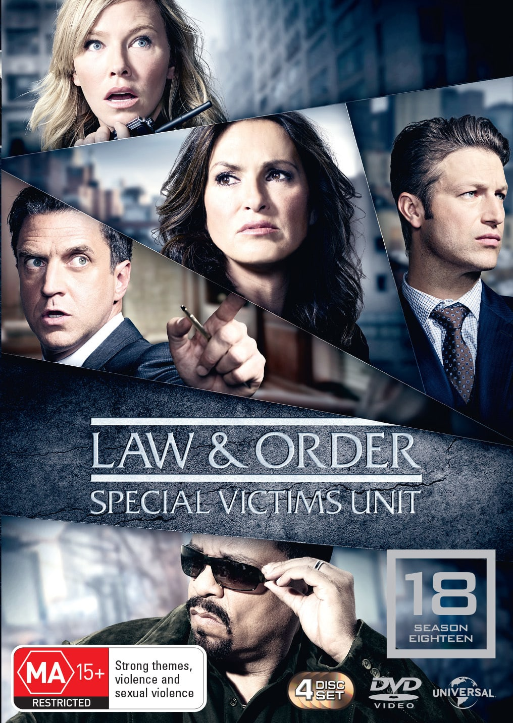 Law and Order - Special Victims Unit: Season 18 [DVD]